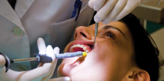 iniezione odontoiatria