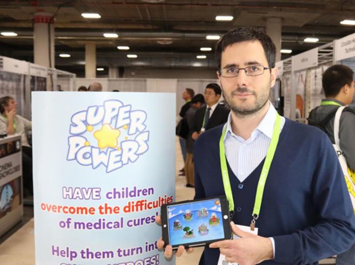 Alberto Piras presenta Super Poteri in occasione del Ces di Las Vegas 2018