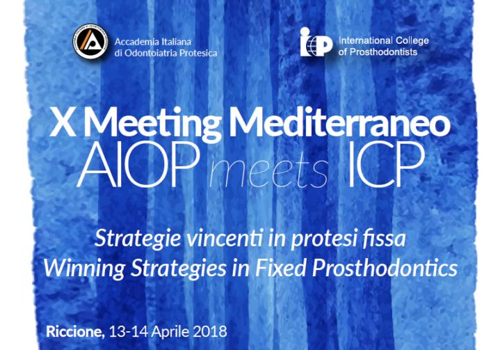 X Meeting Mediterraneo AIOP