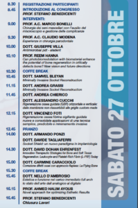 Programma Global Bone Grafting Symposium